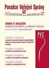 PVS 1-2/2020 Zákon o znalcích, znaleckých kancelářích a znaleckých ústavech