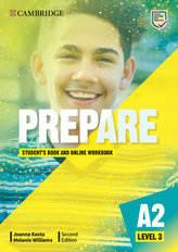 Prepare Second edition Level 3 Student´s Book and Online Workbook