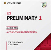 B1 Preliminary 1 for revised exam from 2020 Audio CD