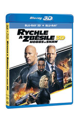 Rychle a zběsile: Hobbs a Shaw 2 Blu-ray (3D+2D)