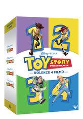 Toy Story: Příběh hraček kolekce 1.-4. 4 DVD