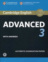 CAE Practice Tests: Cambridge English Advanced 3 Student\'s Book with Answers with Audio