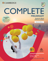 Complete Preliminary Second edition Student´s Book Pack (SB wo answers w Online Practice and WB wo answers w Audio Download)