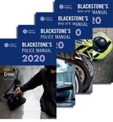 Blackstone\'s Police Manuals 2020: Four Volume Pack