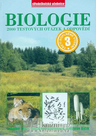 Biologie, 2000 testových otázek a odpovědí - Náhled učebnice