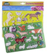 Kreslící šablony ( koně, kočky)
