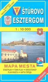 Štúrovo Esztergom 1 : 10 000 Mapa mesta