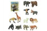 Zvířátko safari ZOO plast 6cm