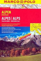 Alpen Alpes/Alps 1:300 000
