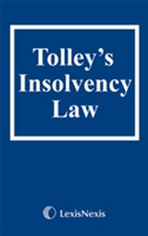 Tolley\'s Insolvency Law