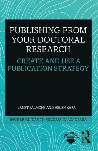 Publishing from your Doctoral Research