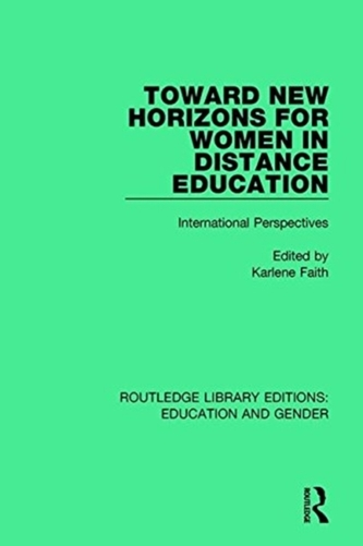 Toward New Horizons for Women in Distance Education
