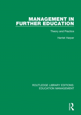 Management in Further Education