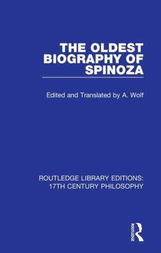 The Oldest Biography of Spinoza
