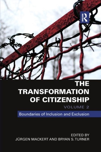 The Transformation of Citizenship, Volume 2