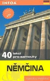 Němčina - 40 lekcí pro samouky - kniha + 2 CD