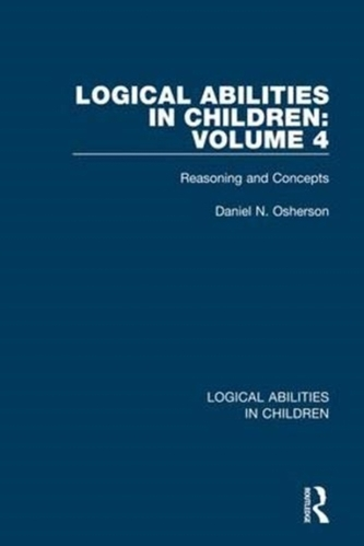 Logical Abilities in Children: Volume 4