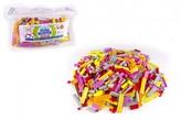 Stavebnice Cheva Taška Plná Kostek plast Sada letní směs 2 kg v plastové tašce