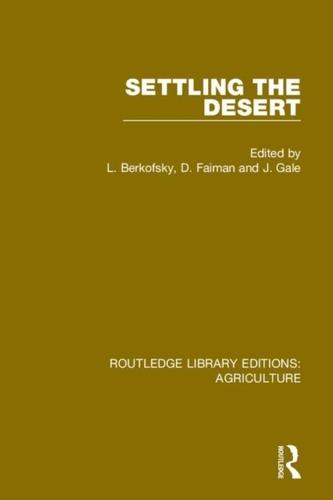 Settling the Desert