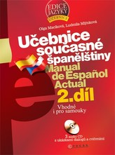 Učebnice současné španělštiny 2.díl + 3CD