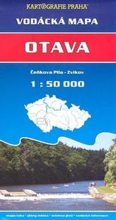 Otava, Čeňkova pila - Zvíkov 1: 50 000