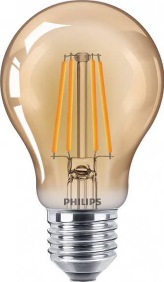 Vintage LED žárovka E27 A60 4W 400lm 2500K nestmívatelná, gold