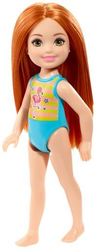 Barbie Chelsea na pláži