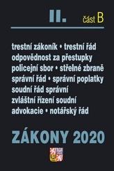 Zákony 2020 II. část B Trestní zákony