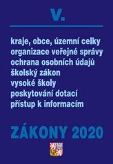 Zákony 2020 V. Veřejná správa, Školství