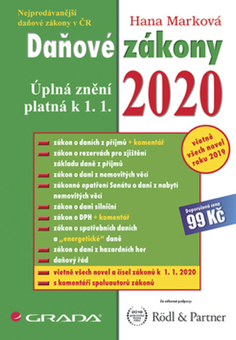 Daňové zákony 2020 - Náhled učebnice