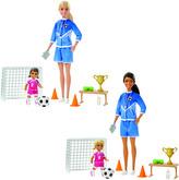 Barbie fotbalová trenérka s panenkou herní set
