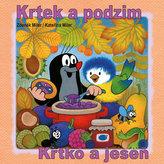 Krtek a podzim - omalovánka