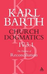Church Dogmatics Classic Nip IV.3.1