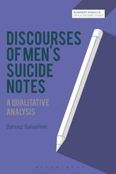 Discourses of Men\'s Suicide Notes