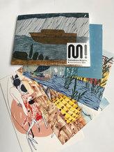 Sada pohlednic - biblická edice manamana (22 ks)