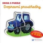 Kniha s puzzle Dopravní prostředky