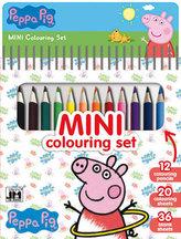 Prasátko Peppa - Mini set s pastelkami