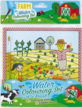 Farma - Vodové omalovánky se štětcem