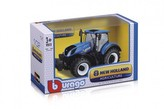 Traktor Bburago 1:32 New Holland kov/plast 16cm v krabičce 22x13x11cm