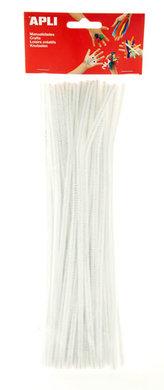 APLI modelovací drátky 30 cm - bílé 50 ks
