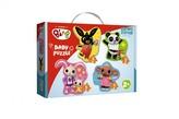 Puzzle baby Bing Bunny a přátelé v krabici 27,5x19x6cm 2+