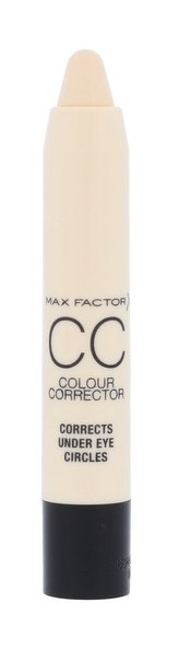 Max Factor CC Colour Corrector Korektor 3,3 g Under Eye Circles pro ženy