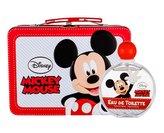 Disney Mickey Mouse toaletní voda 100 ml + plechová krabička
