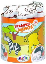 Razítka s příběhem StampoMinos - Safari
