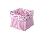 Textilní krabice růžová