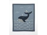 Pletená deka velryba