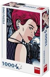 POP ART - TAJEMNÁ ŽENA 1000 Puzzle NOVÉ