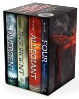 Divergent Series Complete Four-Book Box Set, 4 Vols.