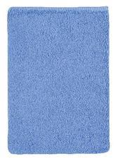 Froté žínka - modrá - 17x25 cm