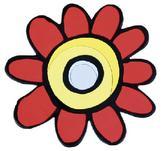 Kuchyňská podložka - astra červená - 10x10 cm